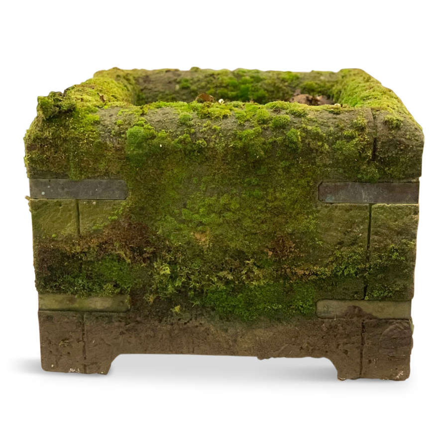 Pairs Of Stone Planters/Troughs