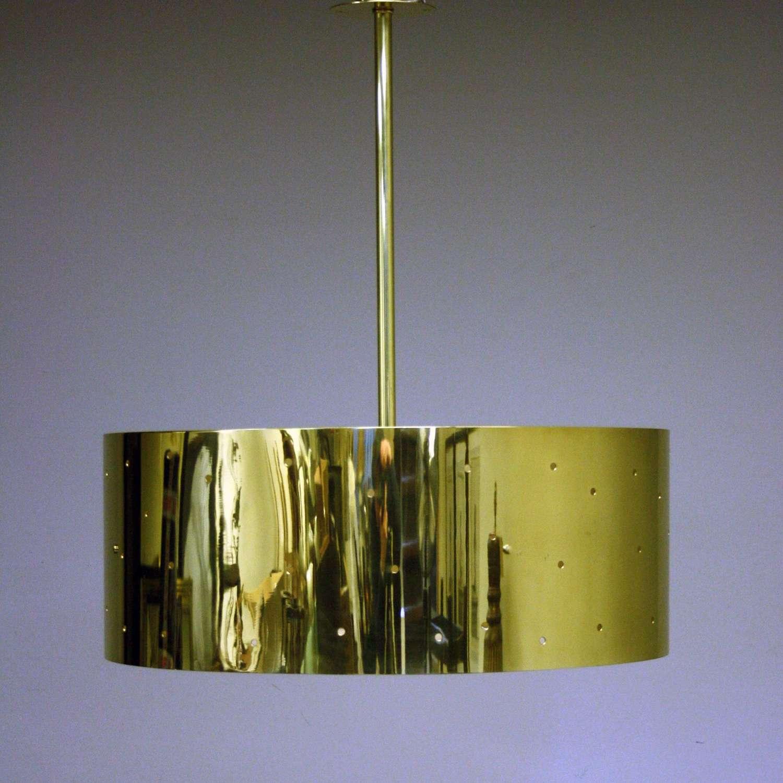 Italian mid century style Cylinder Pendant Light