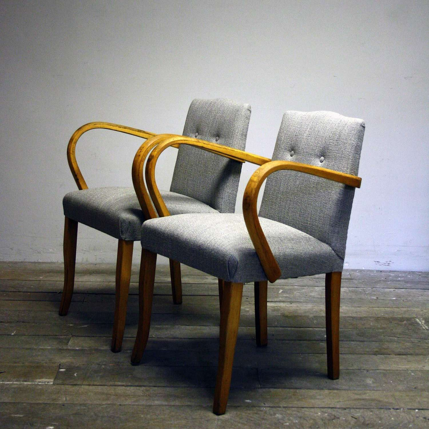 Re-upholstered 1930's Bridge Chairs