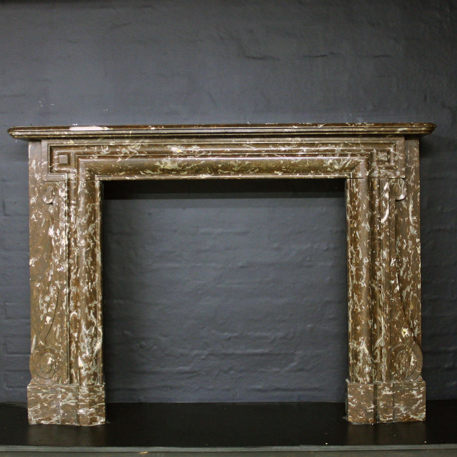 A French Late 19th century chimneypiece