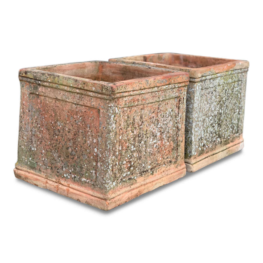 Late 20th Century Terracotta Planters
