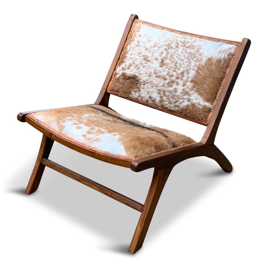 A late 20th Century low chair