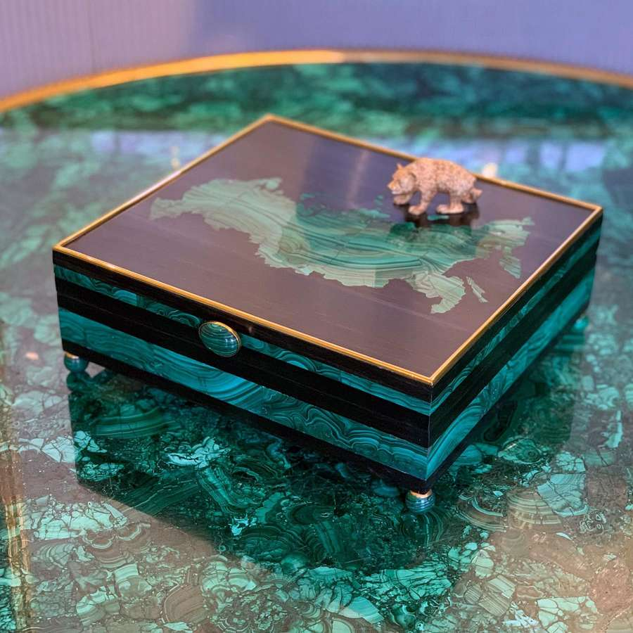 Malachite Humidor By Glynn Lockett