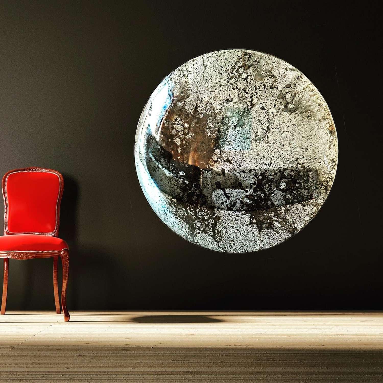 Massive Convex Mirror