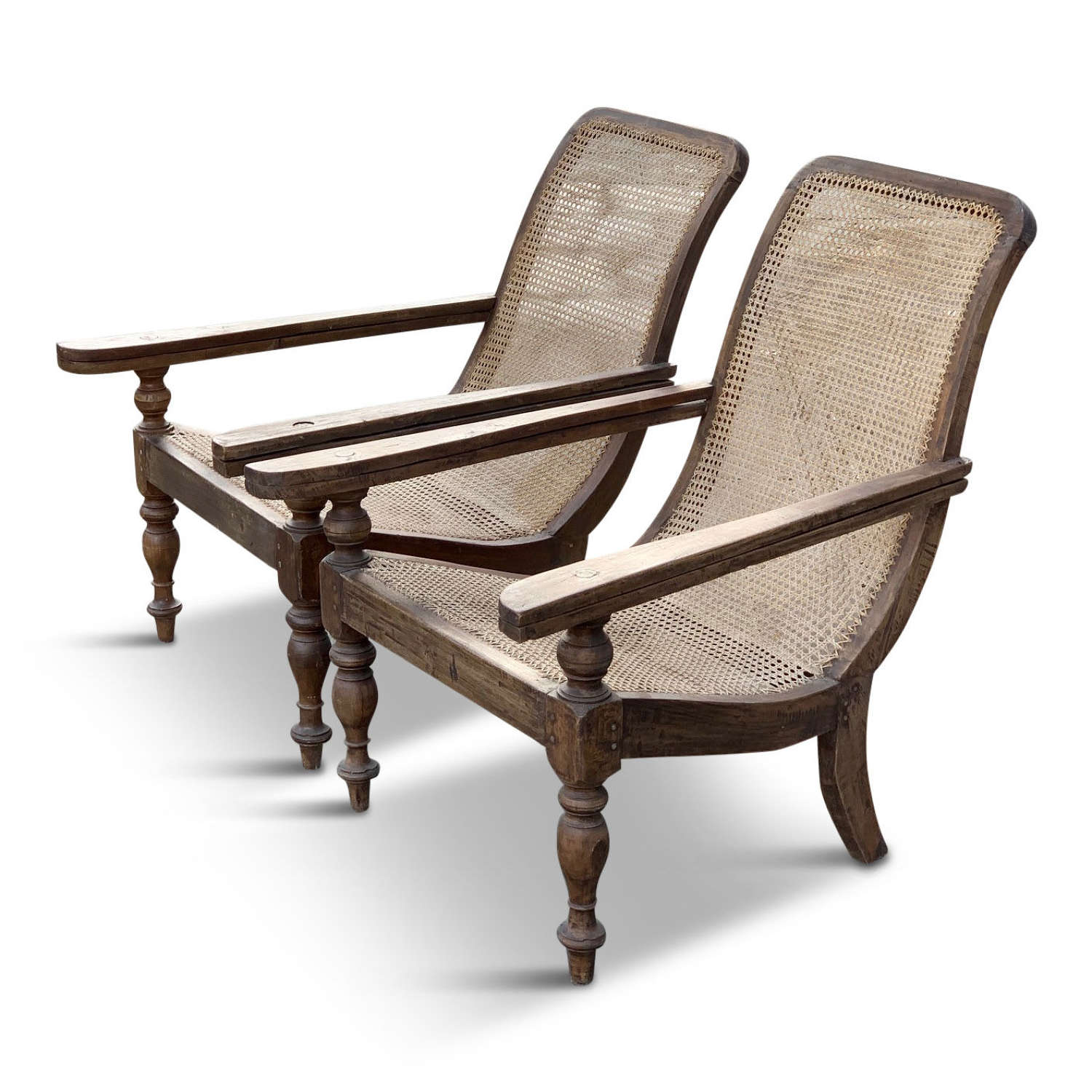 Pair of 20th Century Plantation chairs