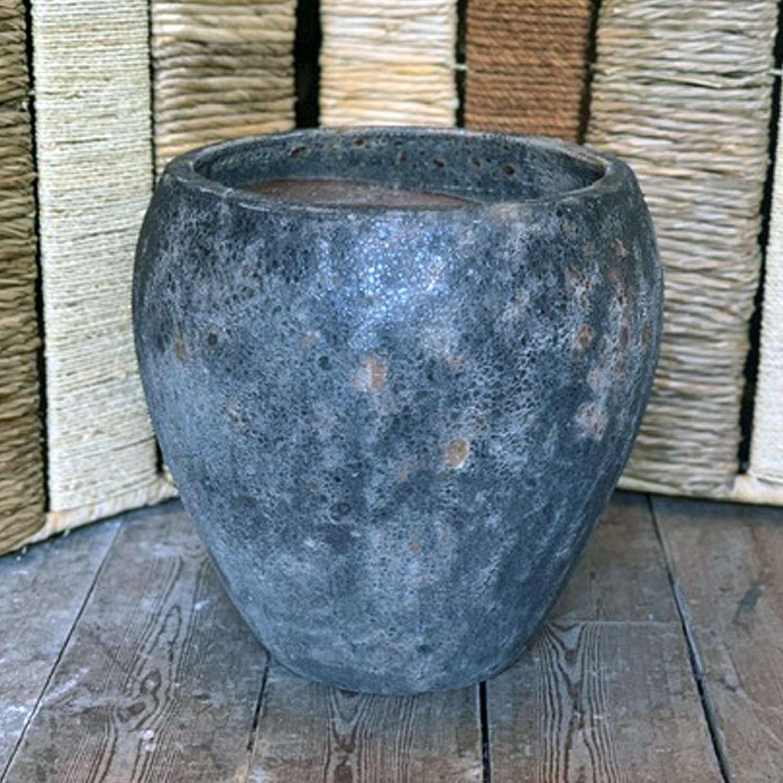 Textured Garden Pot