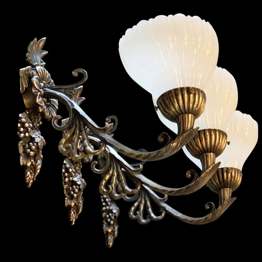 Early 20th Century Wall Sconces