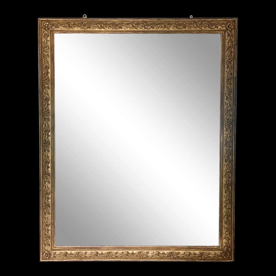 19th Century Overmantel Mirror