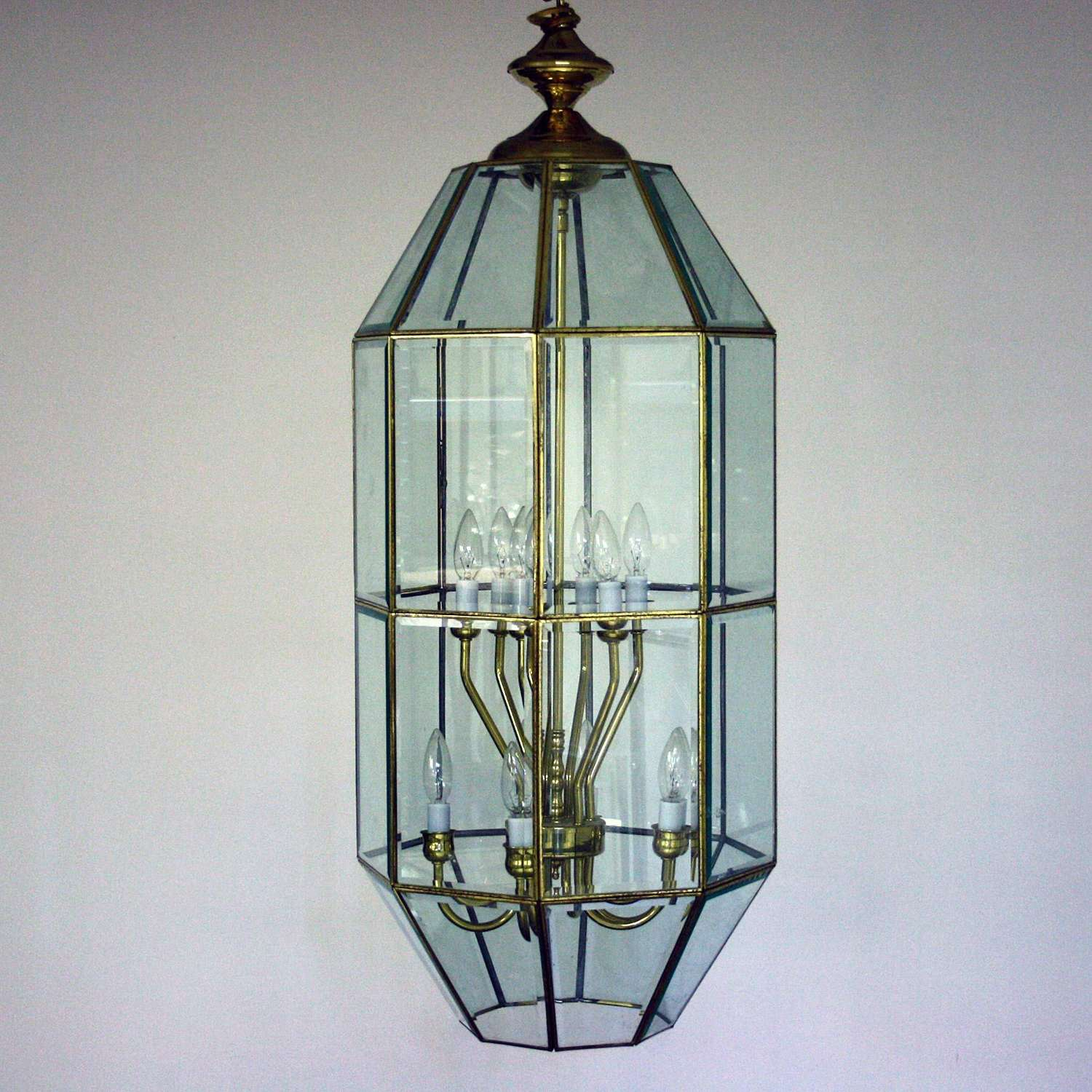 Large Late 20th Century Lantern