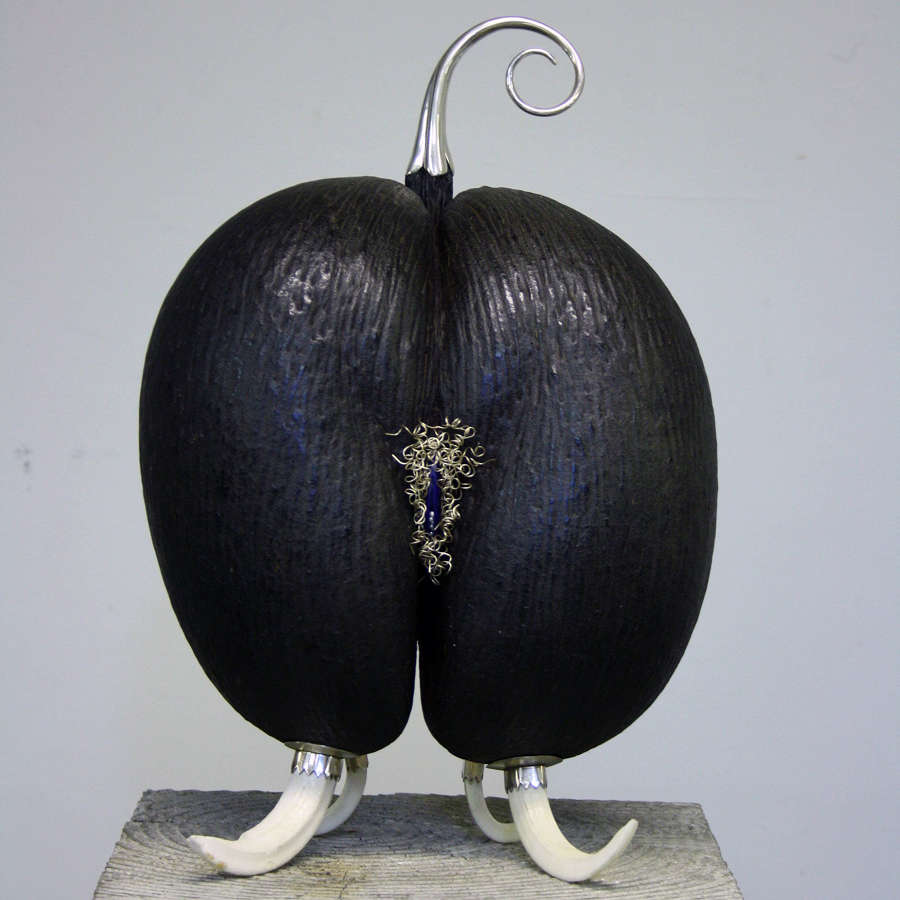 Coco De Mer Sculptures by Glyn Lockett
