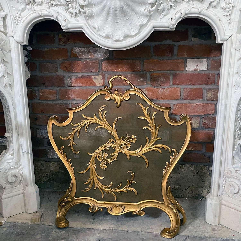 Rococo Style Firescreen
