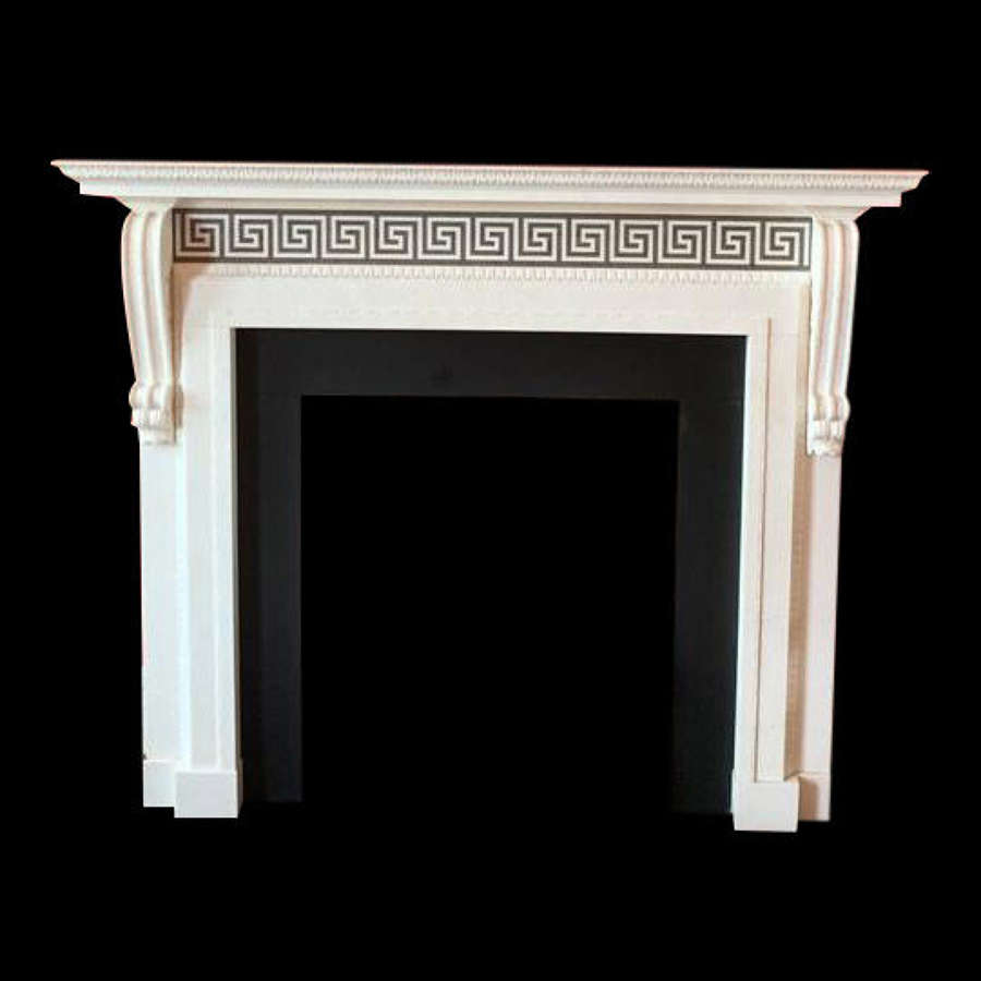 Pair of Georgian Style Chimneypieces