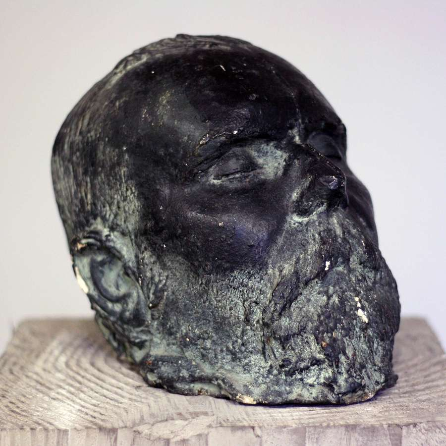 20th Century Plaster Death Mask