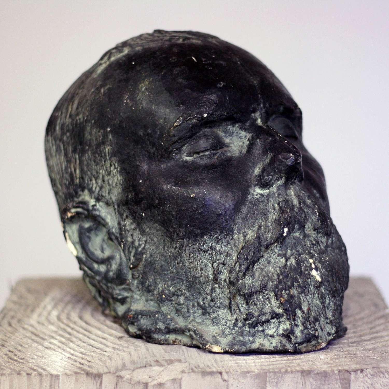 20th Century Plaster Death Mask