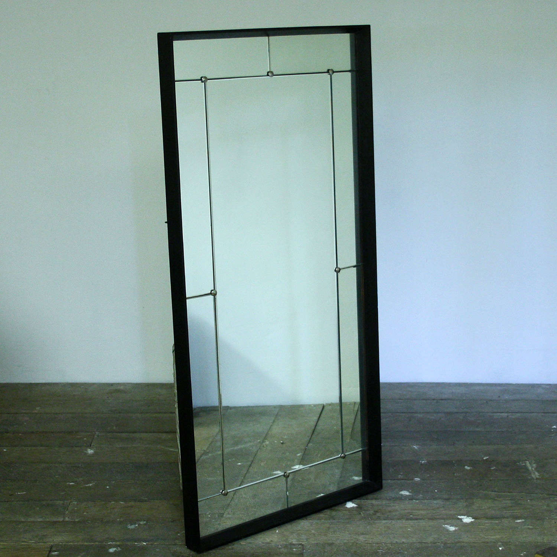 Mid 20th Century Swedish Panelled Mirror