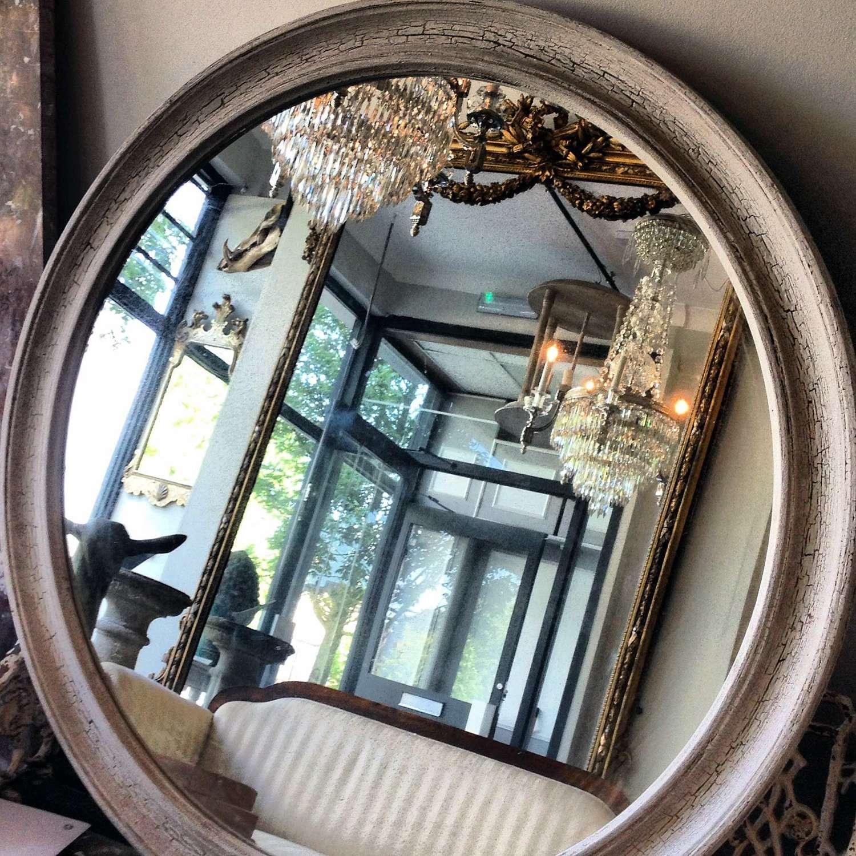 Shabby Chic Circular Mirrors