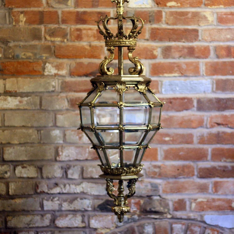 19th Century Versailles Lantern
