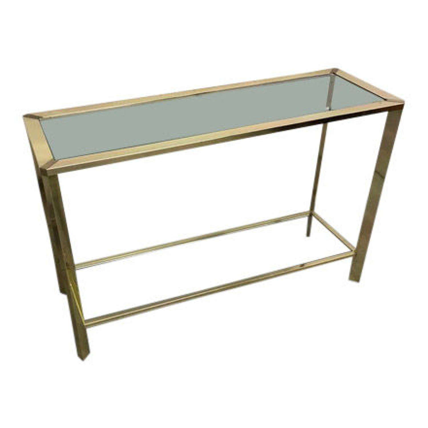 Brass Pierre Vandal Console Table