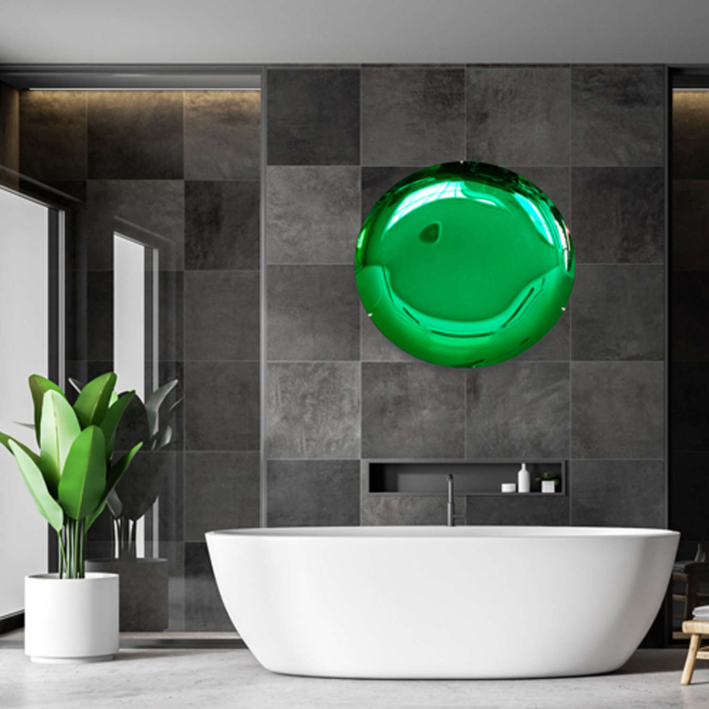 Forrest Green Concave Mirror